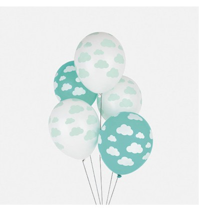ballons nuages