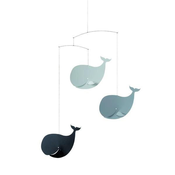 mobile baleines heureuses flensted. Black Bedroom Furniture Sets. Home Design Ideas