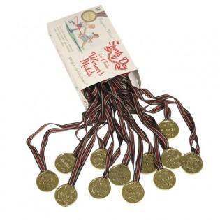 Set de 12 médailles