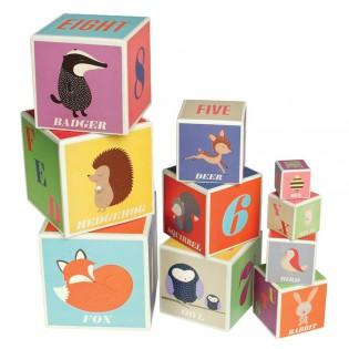 Cubes Animaux , alphabet, chiffres