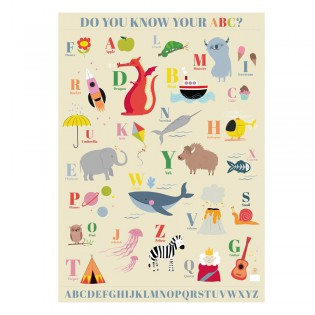Affiche Do you know your ABC
