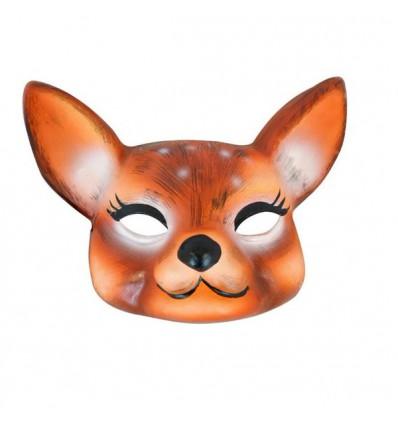 Masque faon en papier mâche