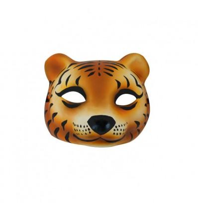 Masque Tigres en papier mâché Omm design
