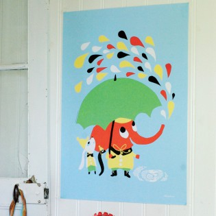 Affiche Rain de Littlephant