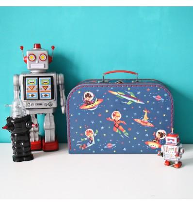 Valisette en carton spaceboy (L)