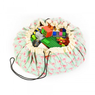 Grand Sac de rangement Flamingo - Play and Go