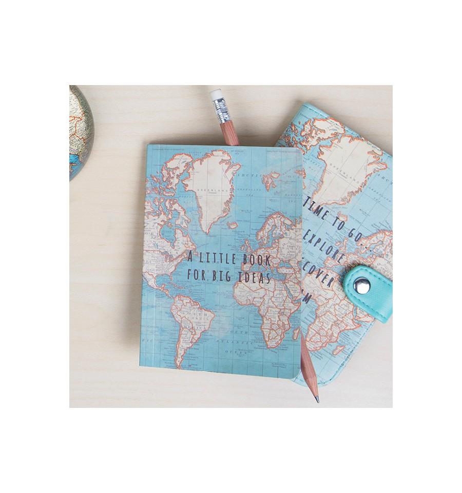 petit carnet de voyage carte du monde. Black Bedroom Furniture Sets. Home Design Ideas