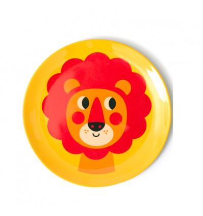 Assiette Nouveau lion Ingela Arrhenius