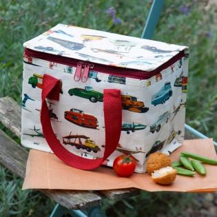 Mini sac isotherme transports vintage