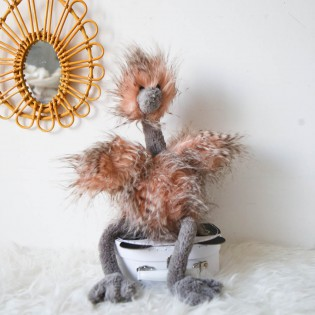 Peluche autruche Odette Jellycat