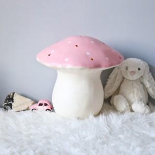 Lampe Veilleuse champignon rose clair (M) - Egmont Toys