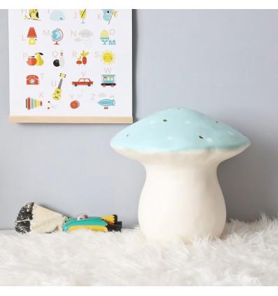 Lampe Veilleuse champignon mint