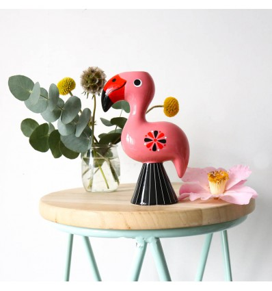 Bougeoir flamant rose Kitsch Kitchen