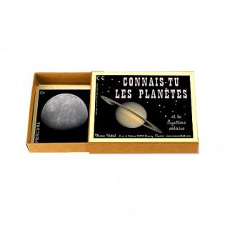 Connais-tu les planètes ? - Marc Vidal