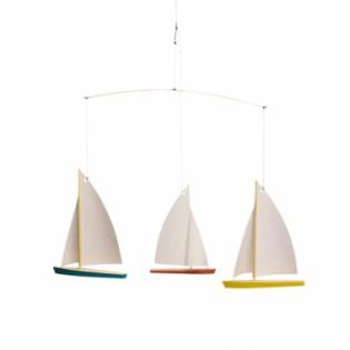 Mobile 3 bateaux - Flensted