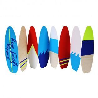 Carte Birthday Surf Day - Mer Meri