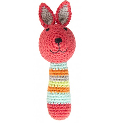 Hochet lapin en crochet - Global Affairs