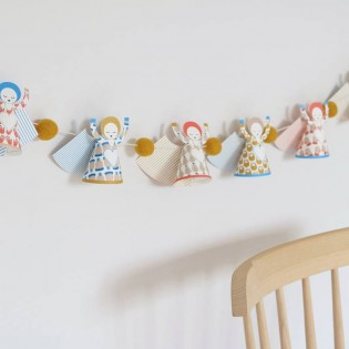 Choeur d'anges en papier Sing TOO de Jurianne Matter