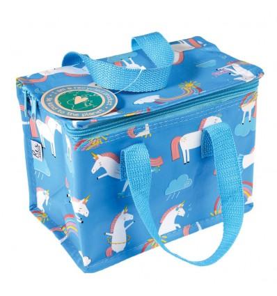 Mini sac isotherme licornes et arc-en-ciel Rex