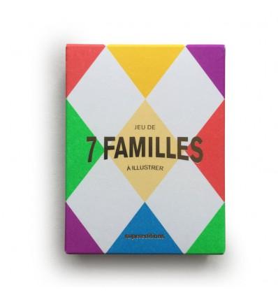 Jeu de 7 familles à illustrer - Superéditions