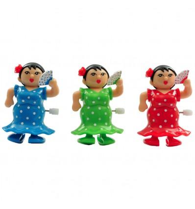 Danseuse de Flamenco mécanique à remonter