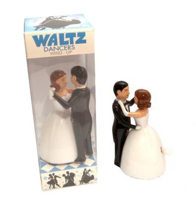 Couple de mariés mécanique à remonter