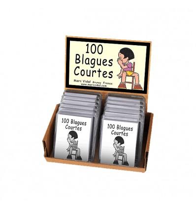 100 blagues courtes - Marc Vidal
