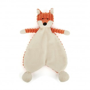 Doudou renard cordy roy baby fox soother- Jellycat