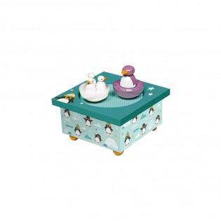 Boîte à musique Pingouins