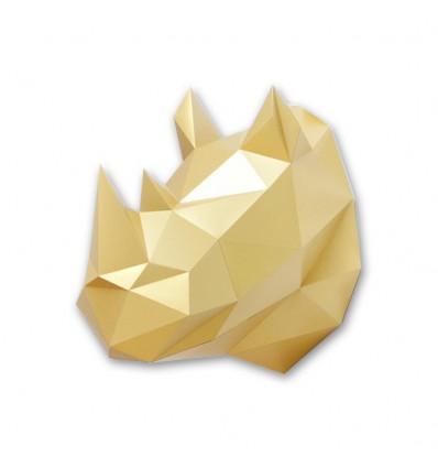 Kit de pliage papier trophée doré- Trophée papier assembli