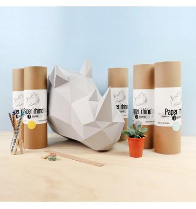 Kit de pliage papier trophée effet marbre Trophée papier assembli