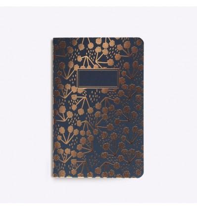 Carnet cousu Little Coton Navy - Editions du Paon