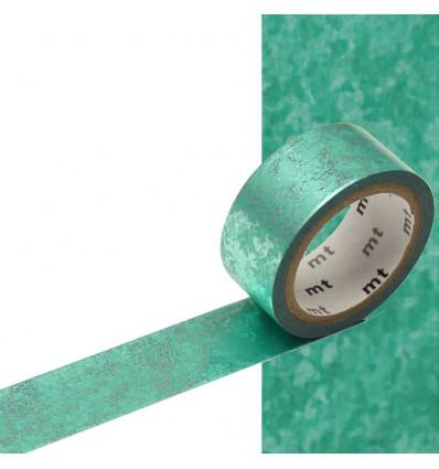 Masking tape Fab métalisé green dust