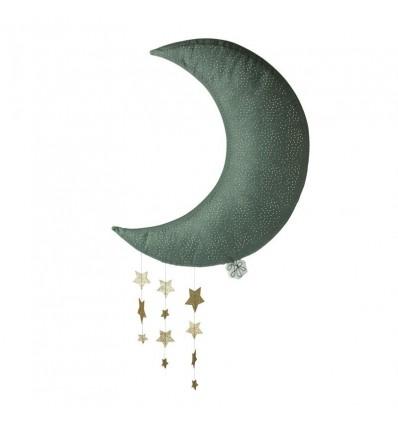 Lune grise & ses étoiles - Picca Loulou