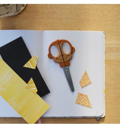 Ciseaux pour enfants Singe - Rico Design