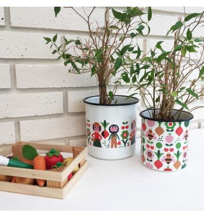 2 cache-pots jardiniers Ingela Arrhenius - Omm Design