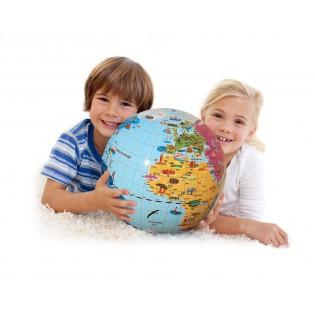 Globe gonflable Merveilles du Monde