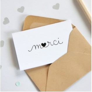 Mini carte Merci - Zü