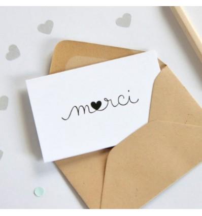 Mini carte Merci - Zü