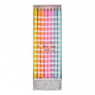 Bougies multicolores - Meri Meri