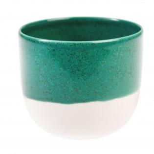 Tasse ou photophore vert viride