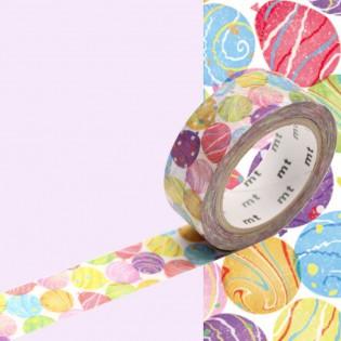 Masking tape ballons yoyo