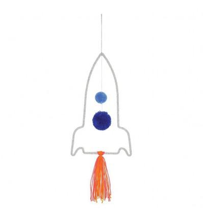 Mobile fusée en tricot - Meri Meri