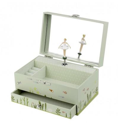 Boîte à bijoux musicale Ninon & Nioui Trousselier