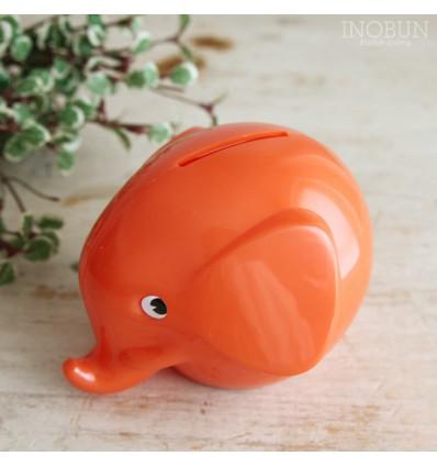 Grande tirelire rétro éléphant Orange - Norsu