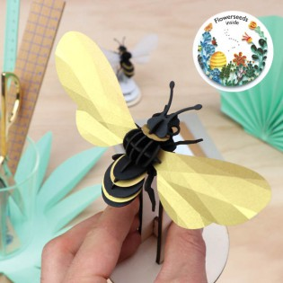 Abeille DIY Honey Bee dorée - Assembli