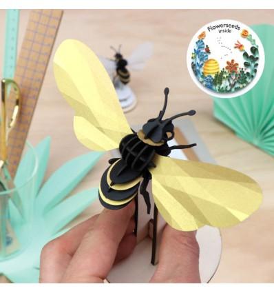 Abeille DIY Honey Bee dorée - Assembli