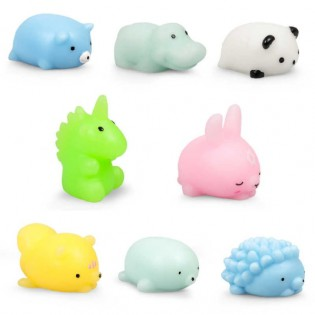 Mini squishy animaux