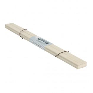 Porte affiche aimanté bois clair 50 cm