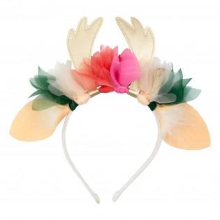 Serre-tête Rennes à fleurs - Meri Meri